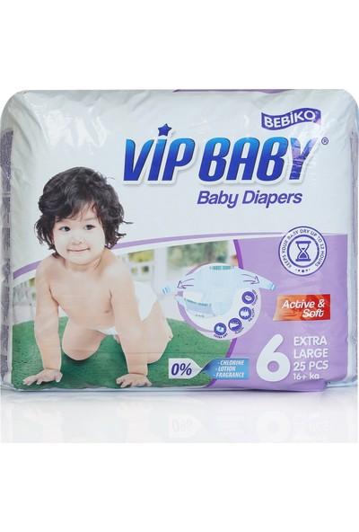 Bebiko Vip Baby Bebek Bezi Active & Soft 6 Beden 26 Adet