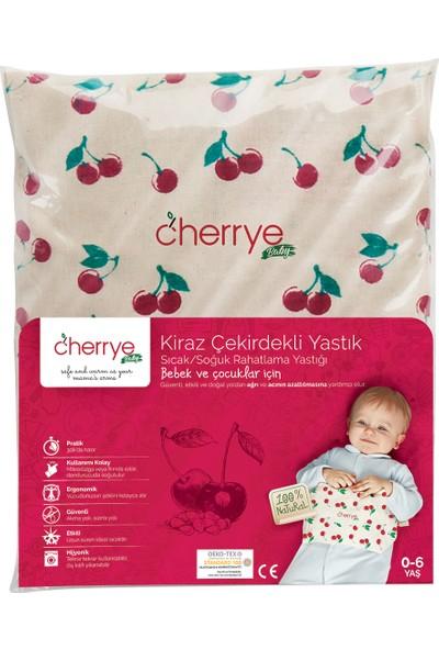Cherrye Baby Sıcak/Soğuk Rahatlama Yastığı - Kiraz Çekirdekli