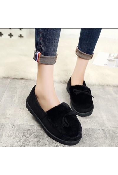 Hobs Peluş Kürk Kadın Ayakkabı