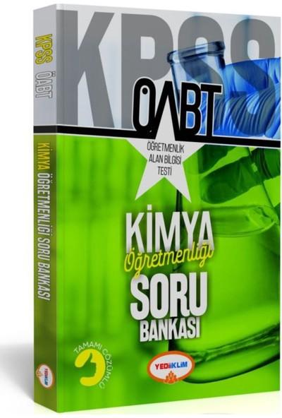 Yediiklim Yayınları ÖABT Kimya Öğretmenliği Soru Bankası