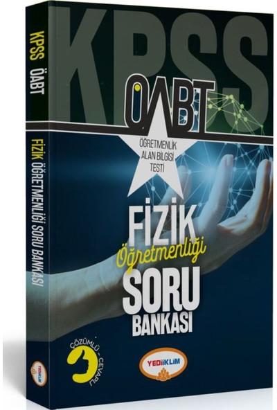 Yediiklim Yayınları ÖABT Fizik Öğretmenliği Soru Bankası