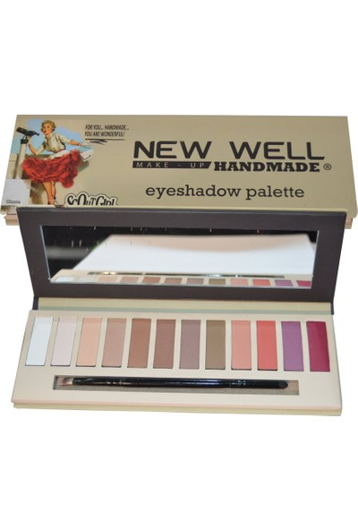New Well Handmade Serisi Eyeshadow Palette (Gloria)