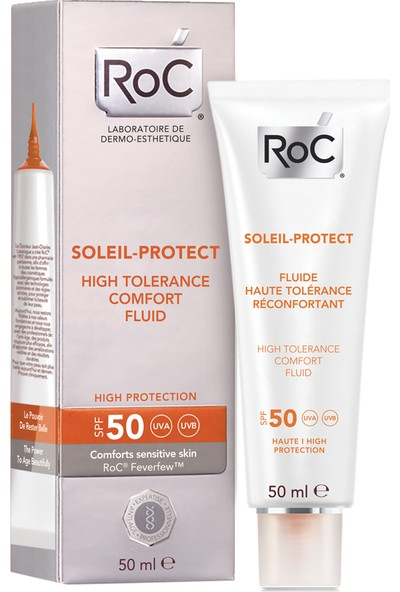 Roc Soleil Protect Yüz Hassas Cilt Spf50 50Ml