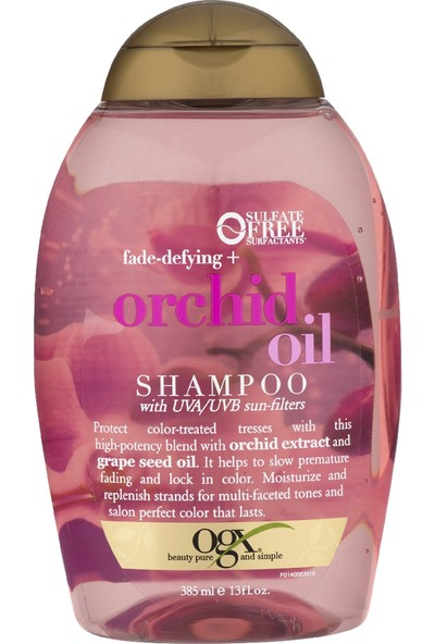Organix Şampuan Orchid Oil 385Ml