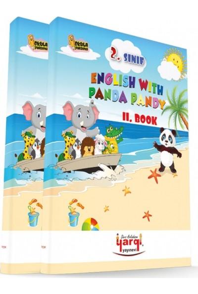 Yargı Ders Arkadaşım 2. Sınıf English With Panda Pandy 2 Kitap Cd'Li