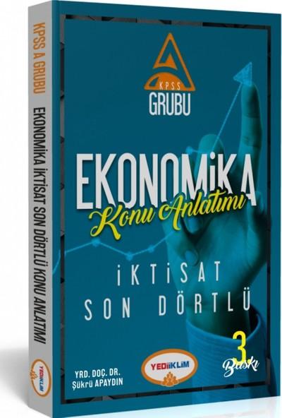 Yediiklim Yayınları KPSS-A Ekonomika İktisat Son Dörtlü Konu Anlatımlı