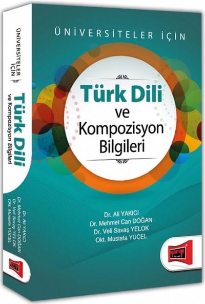 Yargı Yayınevi Türk Dili ve Kompozisyon Bilgileri Üniversiteler İçin