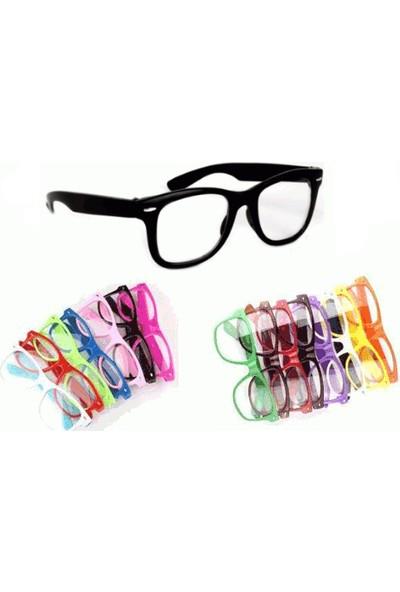 PeakBays Renkli İmaj Gözlüğü - Siyah
