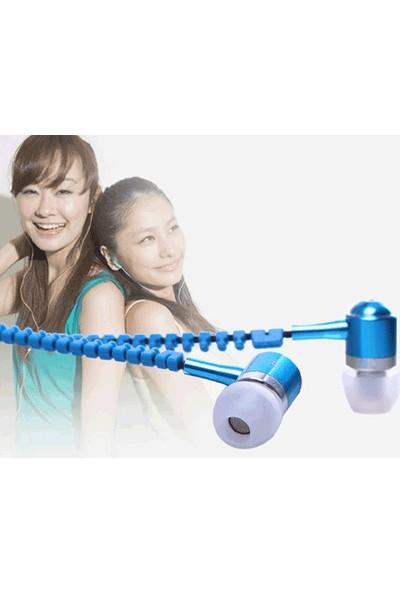PeakBays Zipper Mikrofonlu Fermuar Kulaklık