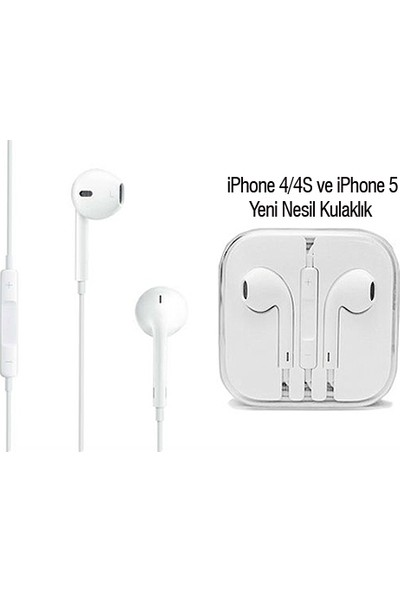 PeakBays iPhone 5 Kulaklık iPhone 4/4S Uyumlu