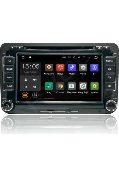 Caddy Android 7 Multimedya Sistemi 2004-2017 Modellere Uyumludur