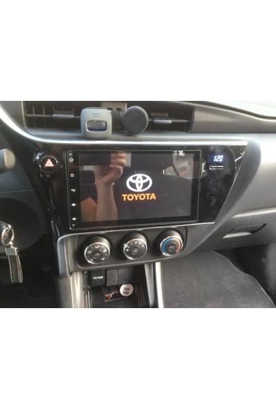 Toyato Corolla Navigasyon Mutimedya Kamera Dvd 2017 Model