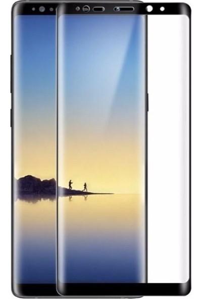 Teleplus Samsung Galaxy Note 8 TAM Kapatan Cam Ekran Koruyucu Siyah