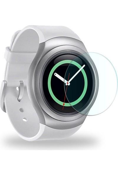 Teleplus Samsung Gear S2 Temperli Cam Ekran Koruyucu Cam Ekran Koruyucu