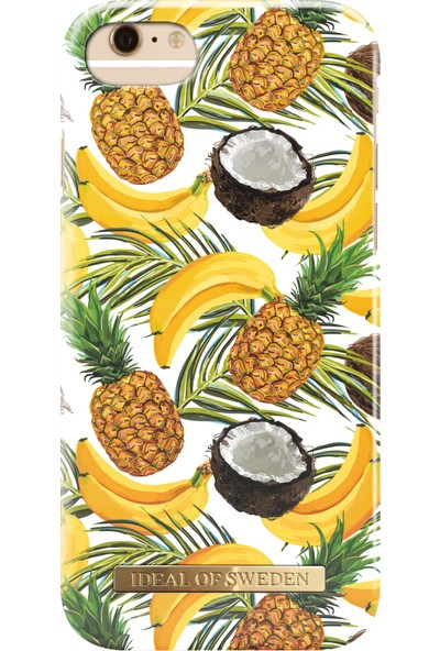iDeal of Sweden iPhone 8 Plus - 7 Plus - 6S Plus - 6 Plus Banana Coconut Arka Kapak