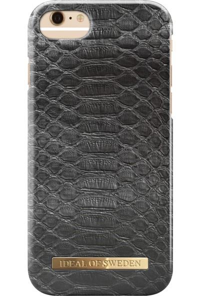 iDeal of Sweden iPhone 8 Plus - 7 Plus - 6S Plus - 6 Plus Black Reptile Arka Kapak