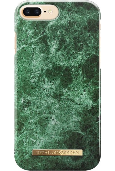 iDeal of Sweden iPhone 8-7-6S-6 Green Marble Arka Kapak