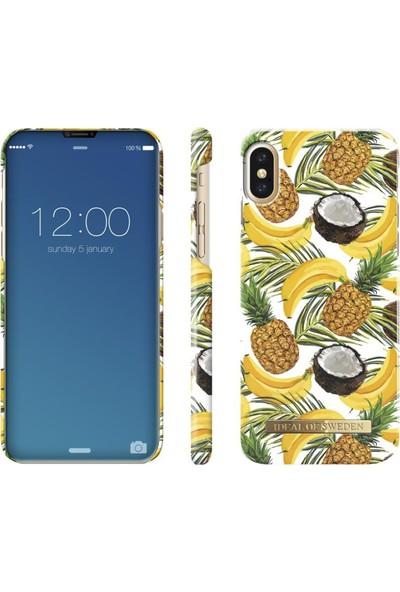 iDeal of Sweden iPhone X Banana Coconut Arka Kapak