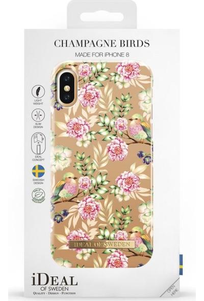 iDeal of Sweden iPhone X Champagne Birds Arka Kapak