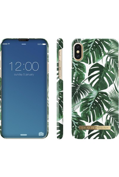 iDeal of Sweden iPhone X Monstera Jungle Arka Kapak