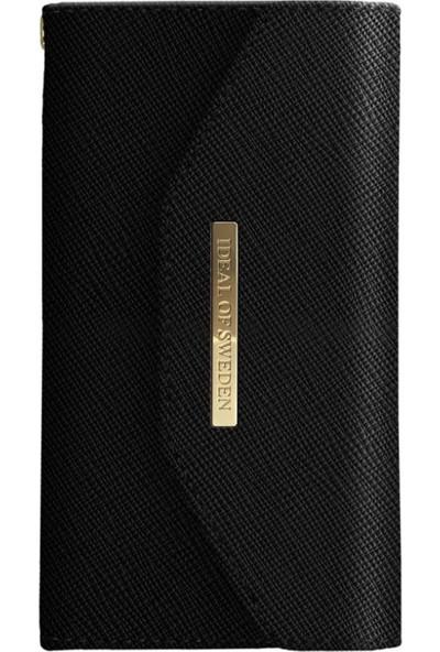 Ideal Of Sweden Mayfair Clutch iPhone 8-7-6S-6 Black Kılıf + Arka Kapak