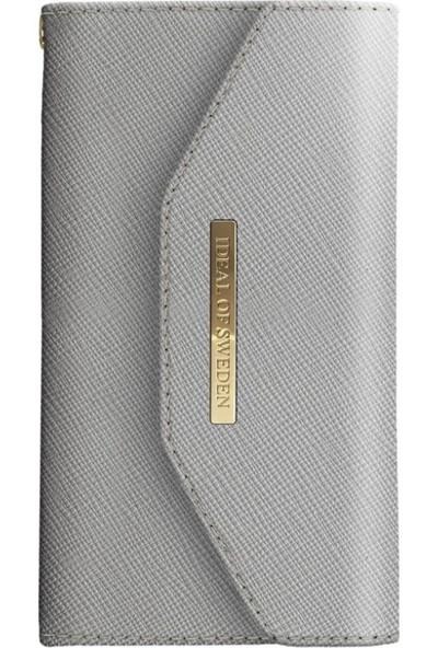 Ideal Of Sweden Mayfair Clutch iPhone 8-7-6S-6 Light Grey Kılıf + Kılıf + Arka Kapak