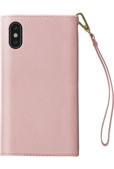 Ideal Of Sweden Mayfair Clutch iPhone X Pink Kılıf + Arka Kapak