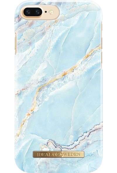 iDeal of Sweden iPhone 8-7-6S-6 Island Paradise Marble Case Arka Kapak