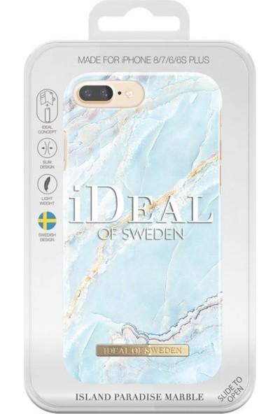 iDeal of Sweden iPhone 8-7-6S-6 Island Paradise Marble Case Arka Kapak
