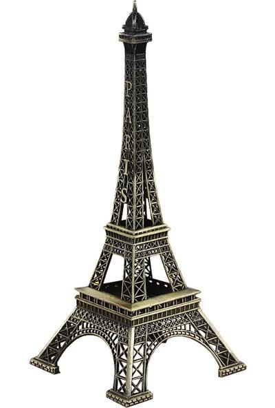 Orta Boy Minyatür Metal Eyfel Kulesi (25x10)