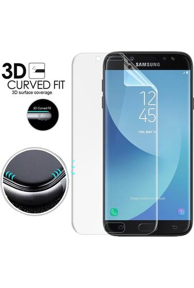 Microsonic Samsung Galaxy J7 Pro Ön + Arka Kavisler Dahil Tam Ekran Kaplayıcı Film