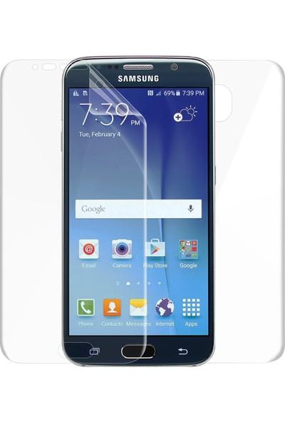 Microsonic Samsung Galaxy S6 Ön + Arka Kavisler Dahil Tam Ekran Kaplayıcı Film