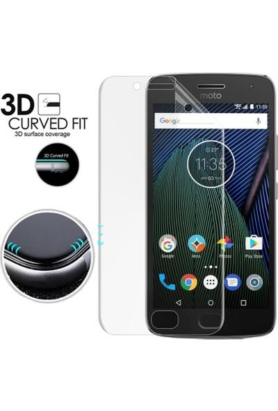 Microsonic Motorola Moto G5 Plus Ön + Arka Kavisler Dahil Tam Ekran Kaplayıcı Film