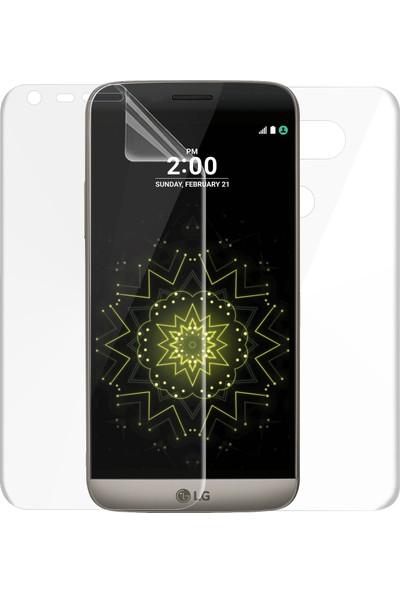 Microsonic LG G5 Ön + Arka Kavisler Dahil Tam Ekran Kaplayıcı Film