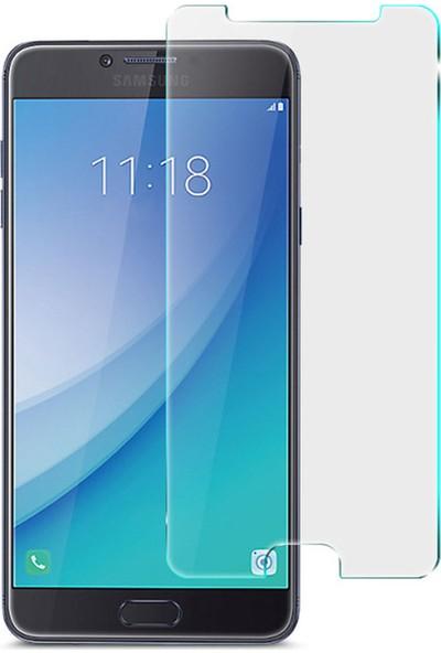 Microsonic Samsung Galaxy C7 Pro Temperli Cam Ekran koruyucu film
