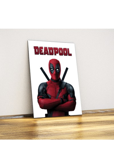 Deadpool - Metal Plaka Poster