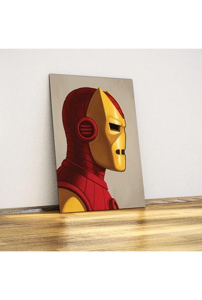Ironman- Dekoratif Metal Poster