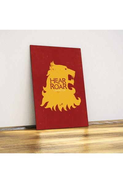 Lannister Hanedanlığı - Metal Poster