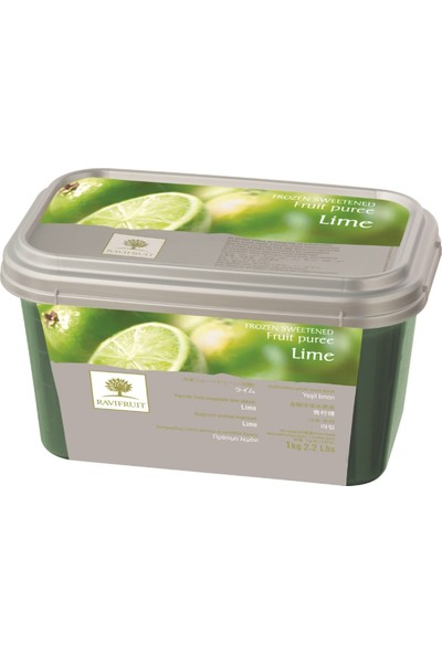 Ravifruit Lime (Misket Limonu) Püresi 1 kg