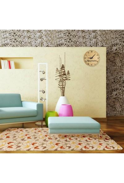 Prado Wellsoft Kumaş Halı Örtüsü Kelebek 80x150