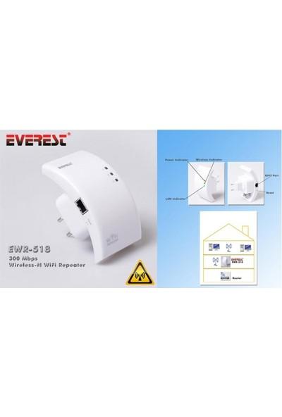 Everest Ewr-518 300 Mbps Kablosuz-N Wifi Repeater