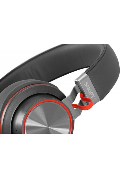 Snopy Sn-44Bt Modüler Kablolu Bluetooth Siyah Mikrofonlu Kulaklık