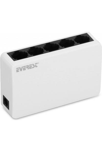 Everest Esw-105 5 Port 10/100Mbps Ethernet Switch Hub