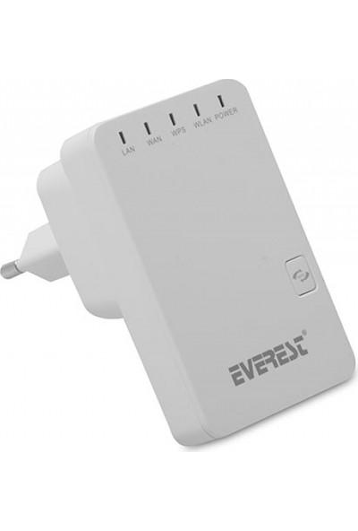 Everest Ewr-523N2 Kablosuz-N Multi-Function 300 Mbps Repeater+Access Point+Bridge Beyaz Client Router