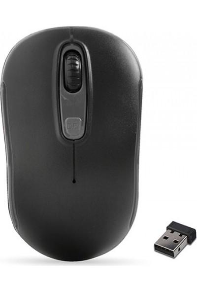 Everest Sm-804 Usb Siyah 800/1200/1600Dpi Kablosuz Mouse