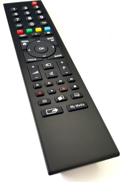 Electroon Grundıg G42L8543-4B Led Tv Uyumlu Kumanda