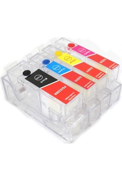 cescesor Canon PGI-5 CLI-8 Uyumlu Kartuş Dolum Seti - 4 Renk