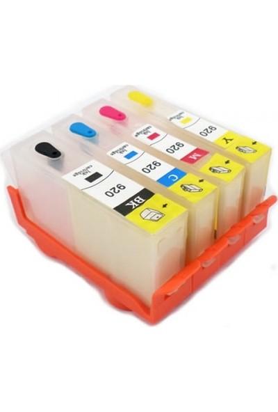 cescesor HP 364 Uyumlu Kartuş Dolum Seti - 4 Renk