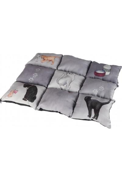 Trixie Kedi Battaniye Ve Yatağı 45X55Cm Gri