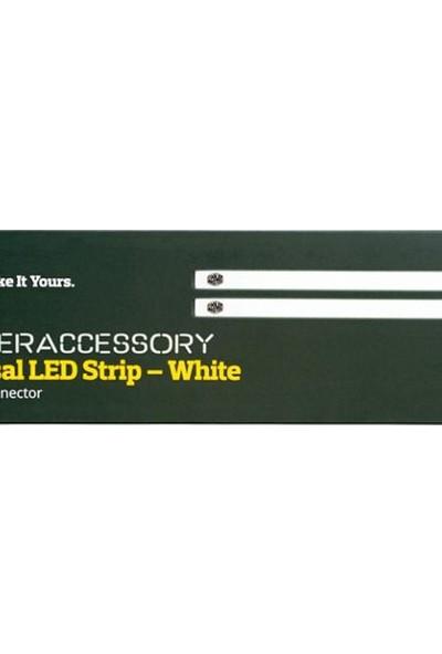 Cooler Master Beyaz Renkli Soft Led Kasa İçi Mıknatıslı Çift Aydınlatma Bandı (MCA-U000R-WLS000)